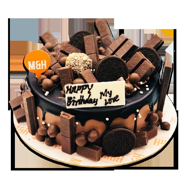 Chocolate Kitkat Cake