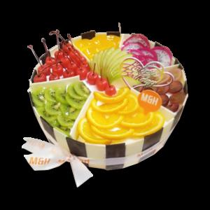 Astonishing Exotic Fruit Basket Cake Milk Honey A Premium Bakery Personalised Birthday Cards Akebfashionlily Jamesorg