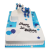 1st Birthday Cake | Send 1st Birthday Cake | Personalised 1st Birthday Cake | M&H Bakery