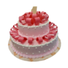 Pink Ribbon Cake | Best Shop for Anniversary Cake | Send Anniversary Cake