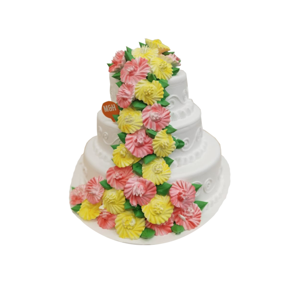 3 Tier Anniversary Cake | Buy Anniversary Cake | Send Anniversary Cake