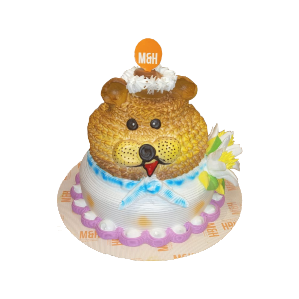 2 Tier Cake | Teddy Bear Cake | 2 Tier Teddy Cake | Buy Kids Cake | M&H Bakery