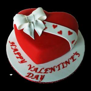 Red Velvet Love Cake | Buy Red Velvet Valentine Cake | Valentine Cake Online | M&H Bakery