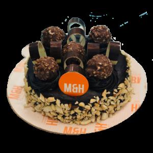 Fresh Chocolate Valentine Cake | Best Valentine Cake In Lucknow | Milk & Honey