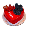 Heart Shape Valentine Cake - Cakes For Valentines Day | Valentine Day Cakes