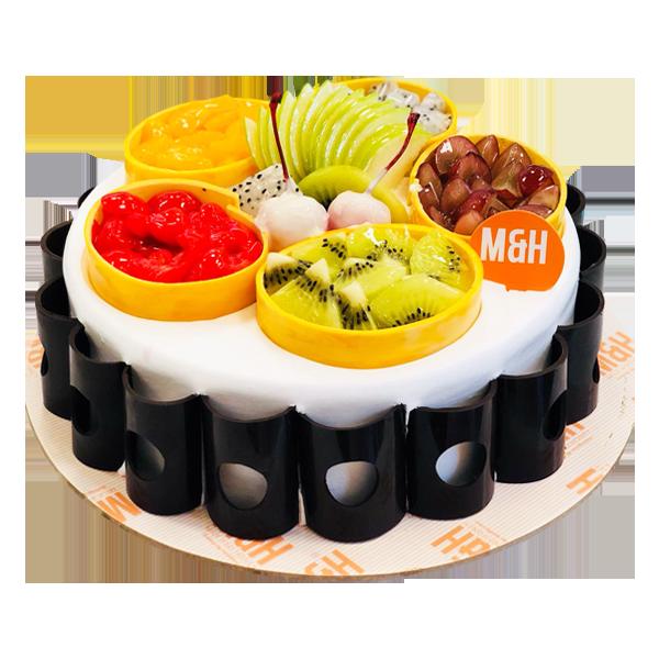 Fresh Christmas Fruit Cakes | Christmas Cakes | Milk & Honey Bakery