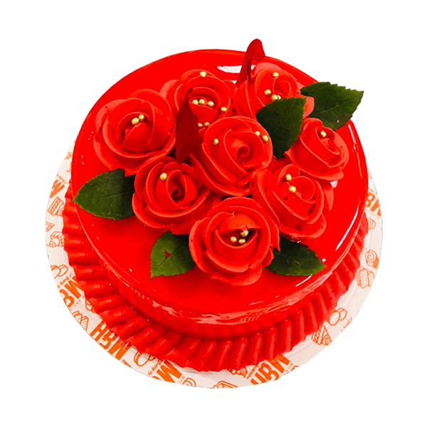 Valentine Day Rose Cake | Best Valentine Day Cake | M&H Bakery