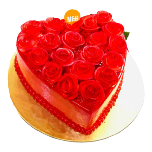 Red Rose Cake | Buy Red Rose Cake Online | Valentine Day Cakes